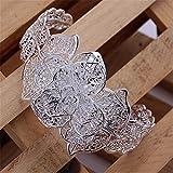 Lingstar - Femmes - Bracelet noeud argent massif 925 classique mode YDHZ59