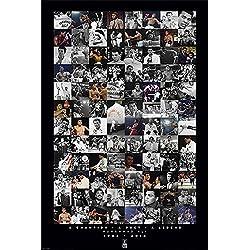 empireposter Muhammad Ali Conmemorativo–Montaje–Tamaño (cm), aprox. 61x 91,5cm–Póster, Nuevo–Descripción:–Deportes Póster Foto boxkampf Muhammad Ali de