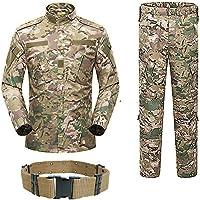 H World Shopping Uomo Tactical BDU Uniforme Giacca Camicia e Pantaloni Tuta  per Esercito Militare Airsoft 7a72779c1cf4