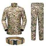 H Welt Shopping Herren Shirt Tactical BDU Combat Uniform Jacke & Hose Anzug für Armee Militär/Paintball/Jagd Shooting Krieg Spiel MultiCam MC, multicam