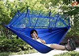 soleditm mitTragbare Hängematte-Sportschuhe in die Tasche mit Hängematte aufhängen Bett-Set, Camping, Wandern
