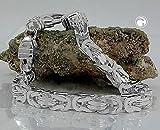 ASS 925 Silber Königskette Halskette Collier 5*5 mm, 55 cm - 2