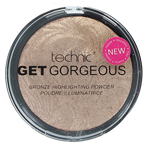Technic 12G Get Gorgeous efecto metalizado relieve en polvo