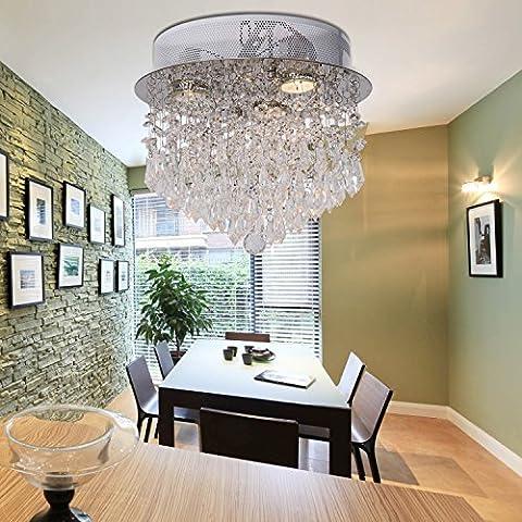 OOFAY LIGHT® Filo appeso moderno lampadario di cristallo semplice ed elegante tre moderni lampadario di cristallo lampada Ristoranti - Elegante Cristallo
