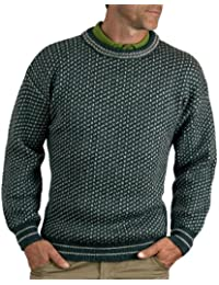 Wool Overs Pull norvégien homme en pure laine