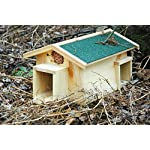 luxus-insektenhotels mecki 22216e hedgehog house with 2 entrances/protection from cats Luxus-Insektenhotels Mecki 22216e Hedgehog House with 2 Entrances/Protection from Cats 61rKiR3qlqL