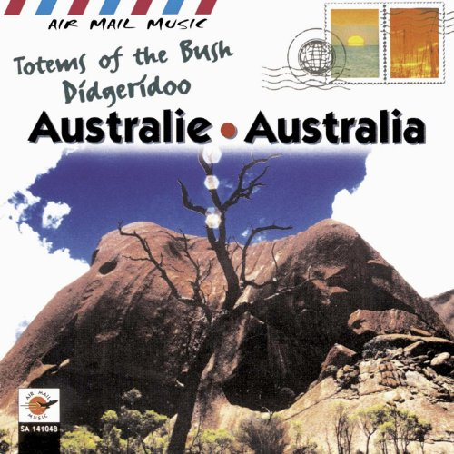 australie-australia-totems-of-the-bush-didgeridoo-air-mail-music-collection