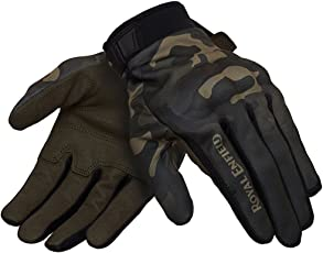 Royal Enfield Enduro GLAW17005 Gloves (Olive, XL)