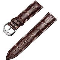 Cinturino Orologi Cuoio Genuino Di Vitello Cinturini Di Ricambio Adatta Per Orologi Tradizionali Sportivi Smart Watch