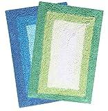 #4: Saral Home Soft Cotton Anti Slip Bathmat (Pack of 2, 40x60 Cm)