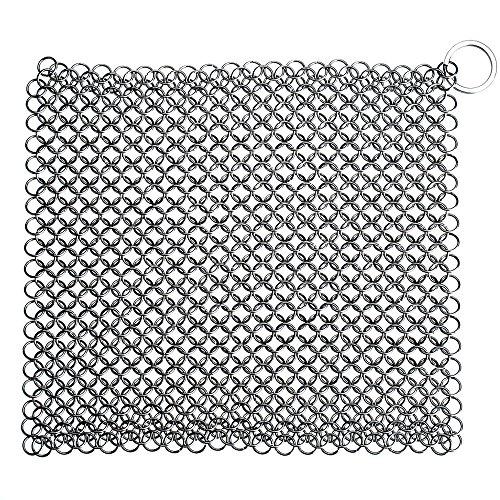 limpiador-de-hierro-fundido-pictek-8-x-8-acero-inoxidable-chainmail-depurador-limpiador-cacerola-de-