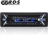 YOHOOLYO Autoradio mit Bluetooth Freisprecheinrichtung RDS FM Radio Tuner 1 Din USB/SD/Aux Anschluss Fernbedienung und ISO-Ka