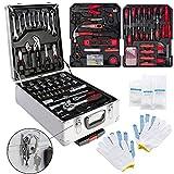 Boîte à outils 621 pièces Boîte à outils Coffret à outils Set à outils