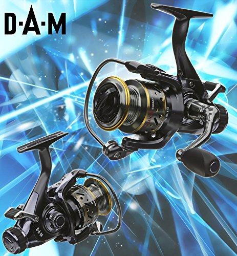 dam-quick-camaro-620-fs-freilaufrolle-gratis-shimano-ultegra-schnur