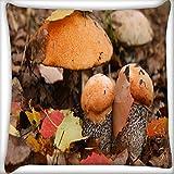 Orange Mushroom Home Decor Werfen Sofa Auto Kissenbezug Kissen Fall 40,6x 40,6cm