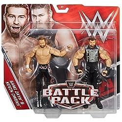 WWE Battle Pack Serie 44 Action Figures - Sami Zayn V Kevin Owens Arco Rivals