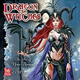 Dragon Witches 2018 Wall Calendar: The Art of Nene Thomas