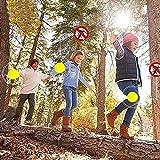N/X Patch Repellente per zanzare, Adesivi Personali risigillabili Naturali al 100 per Adulti e Bambini - Protezione 24 H dagli Insetti - 60 Pezzi Clip Gialla masterly
