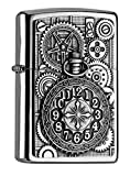 Zippo Sturmfeuerzeug 2004742 POCKET WATCH AND GEAR WHEELS EMBLEM