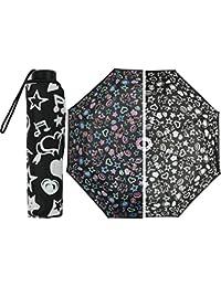 BLUE DROP MOIA Paraguas Mini Mujer Rainy