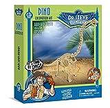 Unbekannt Geoworld 625266 - Dr. Steve Hunters: Dino Ausgrabungs-Set - Brachiosaurus-Skelett, Alter: 6+,Größe: 28 cm