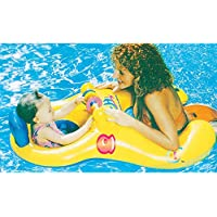 Bambino e la mamma Salvagente, genitori-bambino Galleggiante seggio sicuro gonfiabili nuotata Anello Summer Fun Swim Trainer