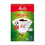 Melitta Original 1x2 Coffee Filter, 40 Pieces, 40 g - Pack of 1
