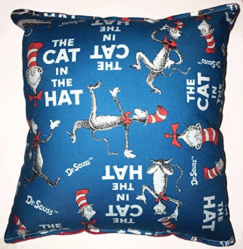 Die Katze im Hut Kissen Dr. Seuss Kissen HANDGEFERTIGT in USA NEU Kissen ()