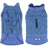 Idepet Wasserdichter Hundemantel für den Winter, warme Jacke, Winddicht, Schneeanzug für kleine und mittelgroße Hunde…