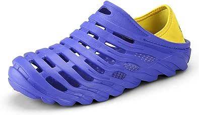 CHENXD Chaussures, Les Sandales antidérapantes et Respirantes pour Hommes sont des Chaussures de Sport décontractées Faites Glisser vers Le Bas et Tirez Deux Fois Les Chaussures élastiques avec Bride