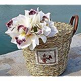Fiori artificiali REAL TOUCH - orchidee mazzo di 3 mazzi - 4 colori disponibili