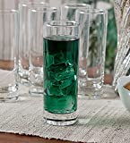 Famacart Tableware Serving Glasses water Juice Glass Pack of 6 Pcs (340 ML)