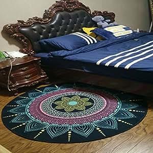 momo teppich runder teppich im wohnzimmer schlafzimmer f r nachttisch kaffeetisch stuhl bereich. Black Bedroom Furniture Sets. Home Design Ideas