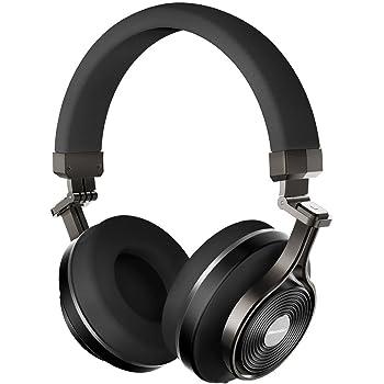 Bluedio T3 Plus (Turbine 3rd) Wireless Bluetooth 4.1 Stereo Headphones with  Mic Micro SD Card Slot (Black) 65ab2c544e