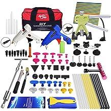 Kit de reparación de abolladuras de coches, con bolsa de herramientas, 74 piezas