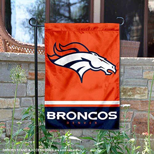 Wincraft Denver Broncos Doppelseitige Gartenflagge