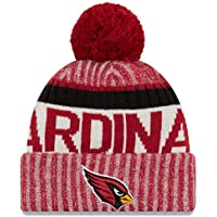 online store 68d3f 3c70f New Era Arizona Cardinals Bobble Hat - NFL Sideline - Red