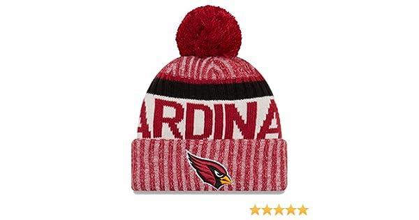 2344c61cc New Era Arizona Cardinals Bobble Hat - NFL Sideline - Red
