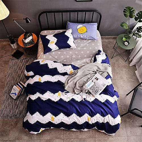 YUNSW Luxury Cotton Quilted Cover Bettbezug Tröster/Quilt/Blanket Case Cover Königin König Voll Königin Größe A 200x230cm -