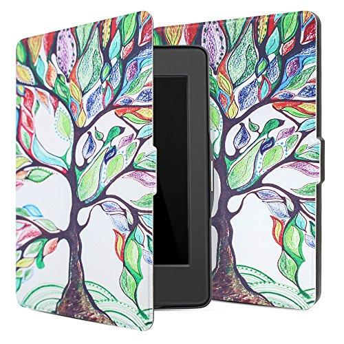 Leafbook CK04X1 Tablet-Schutzhülle, Kindle Paperwhite, baum, Stück: 1 (Baum Monitor)