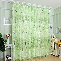 Amazonfr Vert Voilages Décoration De Fenêtres Cuisine Maison