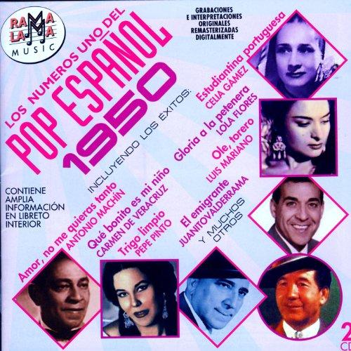 Los Números Uno Del Pop Español 1950