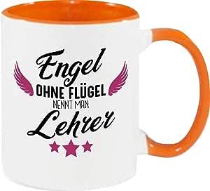 Engel ohne Flügel nennt man Erzieher Kaffeepott Kita Hort Erzieher Lehrerin Da