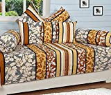 #6: AKIN Premium 100 % Cotton MultiColor Diwan Set with 5 Cushion Covers & 2 Bolsters