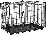 AmazonBasics Hundekäfig mit 2 Türen, Metall, zusammenklappbar, Gr. M - 5