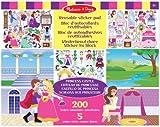 Melissa & Doug 14306 Princess Castle Reusable Sticker Pad