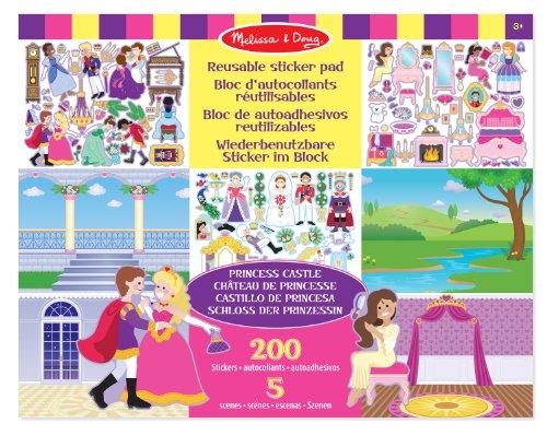 melissa-doug-14306-bloc-dautocollants-reutilisables-chateau-de-princesse