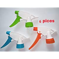 Omdee Trading Plastic Water Spray Nozzle Trigger for Bottle - Set of 6 size-28mm