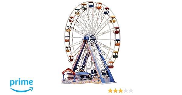 FALLER Childrens Merry Go Round Fairground Model Kit w// Motor IV HO Gauge 140316