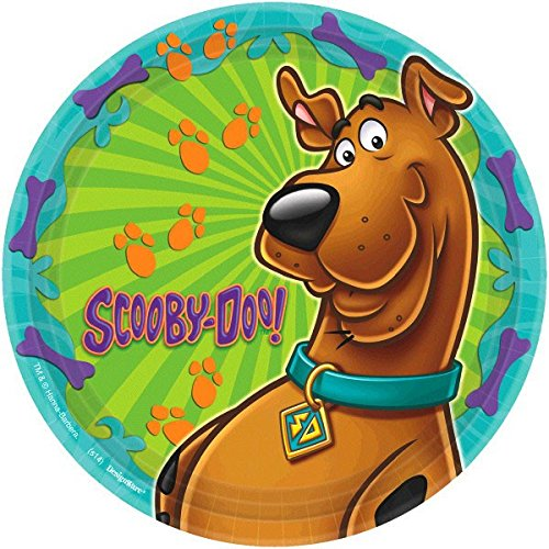 Amscan International 23 cm Scooby Doo Paper Plates